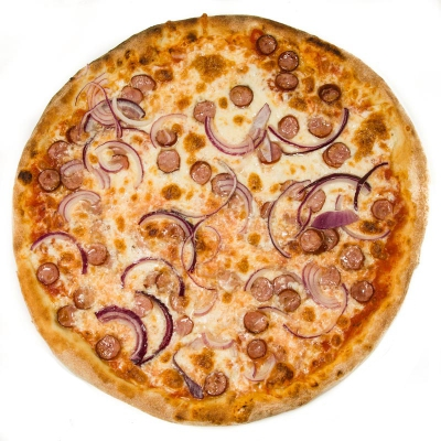 Poză Pizza Salsiccia Cipolla